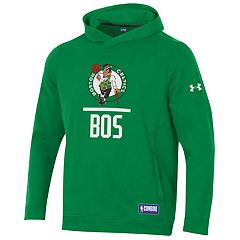 Men's Under Armour Boston Celtics Lock Up Fleece Hoodie
