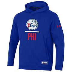 96ca0d16c Men s Under Armour Philadelphia 76ers Lock Up Fleece Hoodie