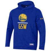 Men's Under Armour Golden State Warriors Lock Up Fleece Hoodie