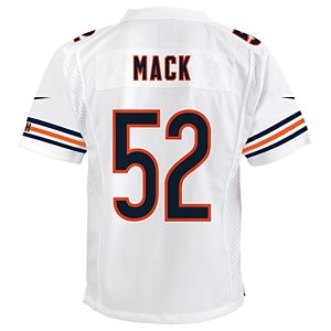 the latest 55a62 49771 Men's Nike Chicago Bears Khalil Mack Team Jersey