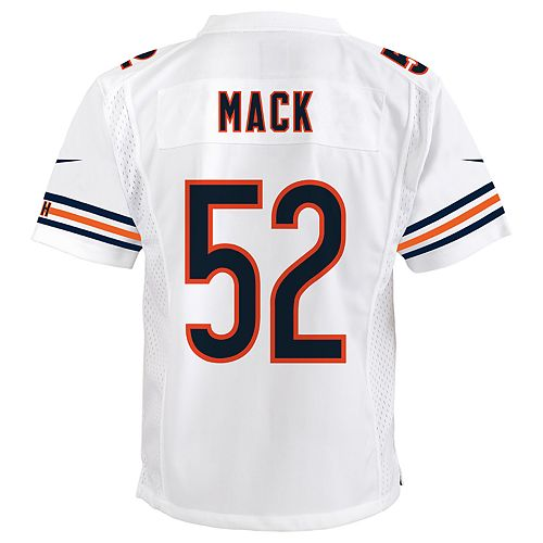 finest selection 76529 57f9c Boys 8-20 Nike Chicago Bears Khalil Mack Game Jersey