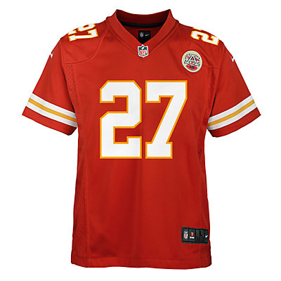 Boys 8-20 Nike Kansas City Chiefs Kareem Hunt Game Jersey