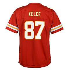 54723fbe Boys 8-20 Nike Kansas City Chiefs Travis Kelce Game Jersey