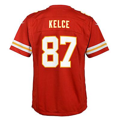 Boys 8-20 Nike Kansas City Chiefs Travis Kelce Game Jersey