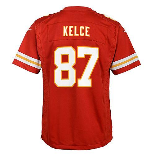 on sale 16e42 f807e Boys 8-20 Nike Kansas City Chiefs Travis Kelce Game Jersey