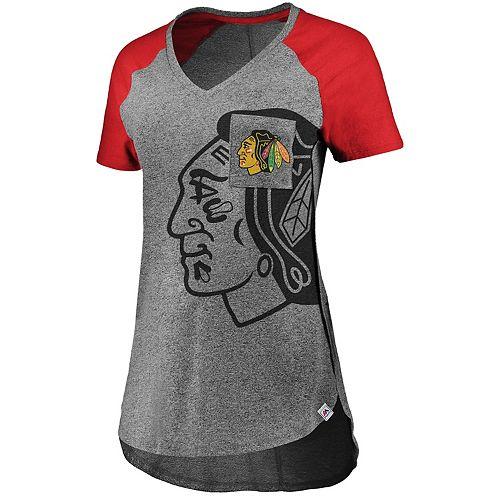 Women's Chicago Blackhawks Static Tee
