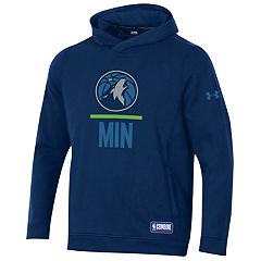 Men's Under Armour Minnesota Timberwolves Lock Up Fleece Hoodie