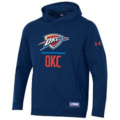 Men's Under Armour Oklahoma City Thunder Lock Up Fleece Hoodie