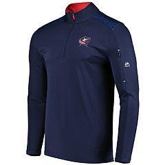 Men's Columbus Blue Jackets Team Tech Pullover
