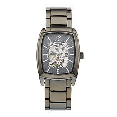 Relic Men's Perry Stainless Steel Automatic Skeleton Watch