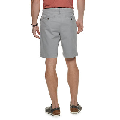 Men's SONOMA Goods for Life? Regular-Fit Stretch 9-inch Twill Flat-Front Shorts