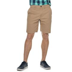 Men's SONOMA Goods for Life™ Regular-Fit Stretch 9-inch Twill Flat-Front Shorts
