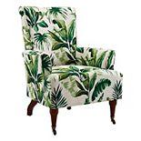 Linon Junnell Leaf Arm Chair