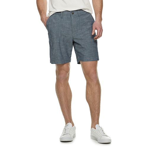 Men's SONOMA Goods for Life® Regular-Fit 7-inch Twill Flat-Front Shorts