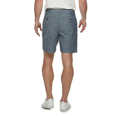 Men's SONOMA Goods for Life? Regular-Fit 7-inch Twill Flat-Front Shorts