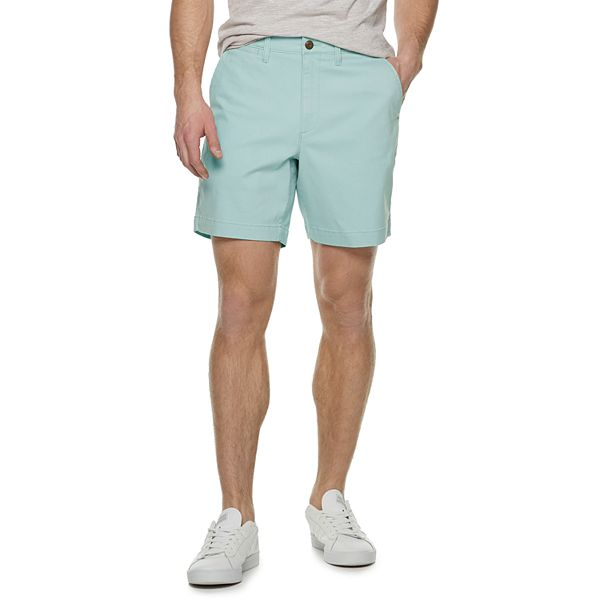 Men's Sonoma Goods For Life™ Regular-Fit 7-inch Twill Flat-Front Shorts