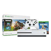 Microsoft Xbox One S 1TB Fortnite Bundle w/4K UHD Blu-ray Deals