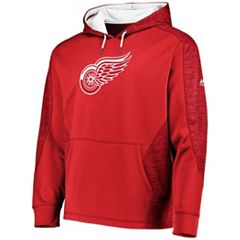 170e40a73 Men s Majestic Detroit Red Wings Armor Hoodie