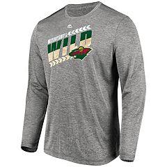 Men's Minnesota Wild Center Line Tee