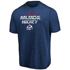 Men's Colorado Avalanche Off the Post Tee