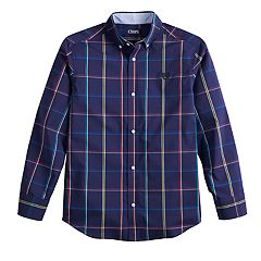 Boys 4-20 Chaps Newport Button-Down Shirt