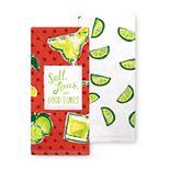 Celebrate Summer Together Good Times Kitchen Towel 2-pk.