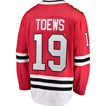 Men's Chicago Blackhawks Loren Toews Jersey