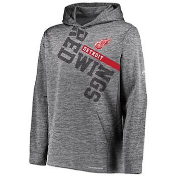 Men's Detroit Red Wings Ultra Streak Hoodie