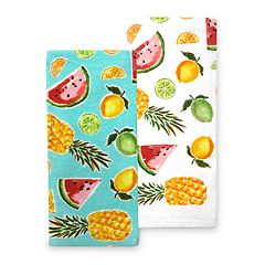 Celebrate Summer Together Fruit Kitchen Towel 2-pk.