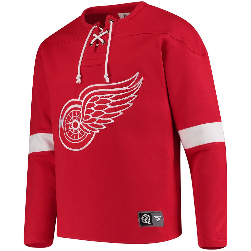 Men's Detroit Red Wings Breakaway Fleece Sweatshirt