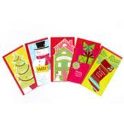 Hallmark 5-Count Fun & Festive Christmas Money or Gift Card Holder Assorted Christmas Cards