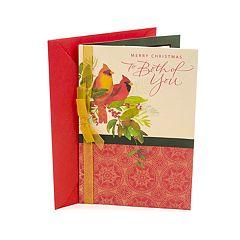 Hallmark Two Cardinals Christmas Card for Couple