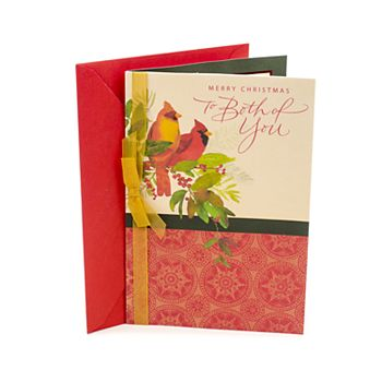 Hallmark Two Cardinals Christmas Card for Couple