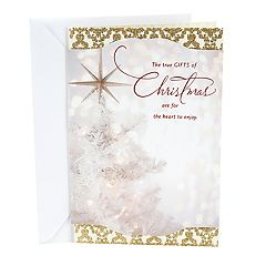 DaySpring God's Love Religious Christmas Card