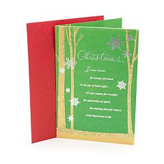 DaySpring The Blessing You Are Religious Christmas Card