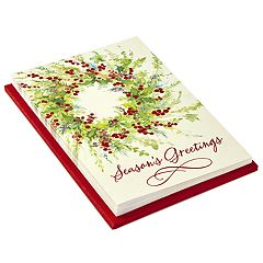 Hallmark 10-Count Season's Greetings Holiday Cards