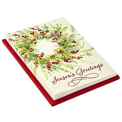 Hallmark 10-Count Season's Greetings Holiday Cards