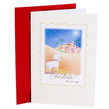 Hallmark 10-Count Lamb & City Christmas Cards