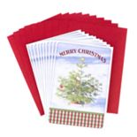 Hallmark 10-Count Christmas Tree in Snow Boxed Christmas Cards