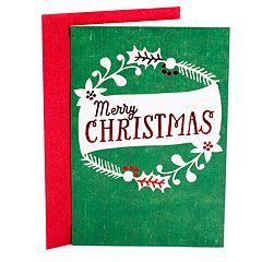 Hallmark 10-Count Wreath Christmas Cards