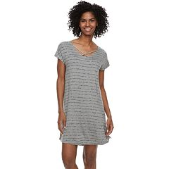 Women's SONOMA Goods for Life™ Crisscross Sleepshirt