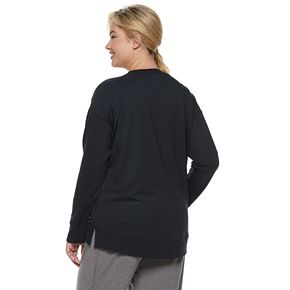 Plus Size SONOMA Goods for Life? Crewneck Sleep Sweatshirt