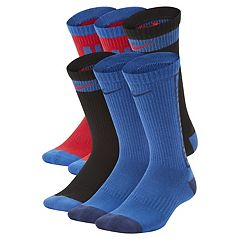 Boys 4-20 Nike 6-Pack Crew Socks