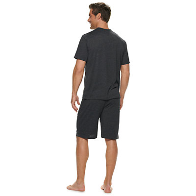 Men's Croft & Barrow® Henley & Sleep Shorts Set