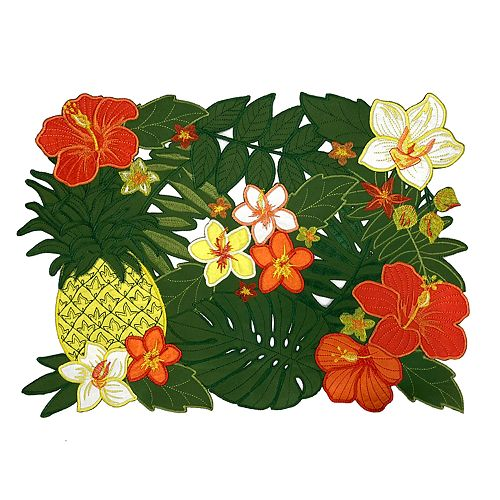 Celebrate Summer Together Tropical Cut-Out Placemat