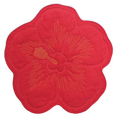 Celebrate Summer Together Flower-Shaped Placemat