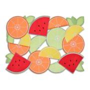 Celebrate Summer Together Citrus Fruit Cut-out Placemat