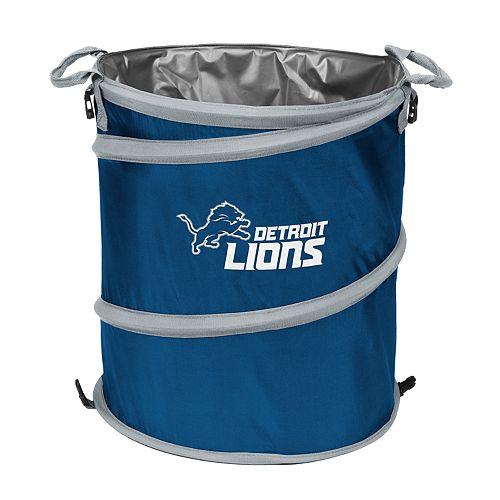 Logo Brands Detroit Lions Collapsible 3-in-1 Trashcan Cooler