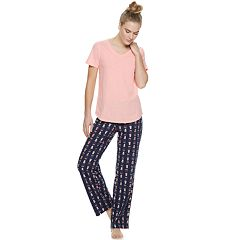 46b4ae32fff7 Women s SONOMA Goods for Life™ 3-Piece Pajama Set