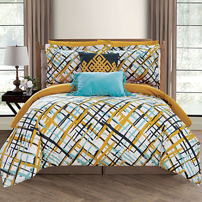 Chic Home Abstract Comforter Set